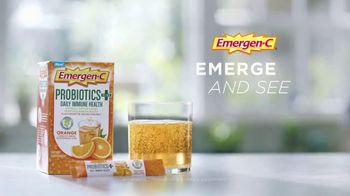 Emergen-C Probiotics Plus TV Spot, 'Emerge Your Best' - Thumbnail 9