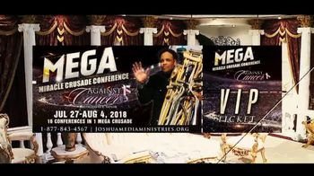 Mega Miracle Crusade Conference Against Cancer TV Spot, '2018 Tickets' - Thumbnail 7