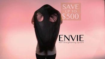 ENVIE Hair Straightening System TV Spot, 'Salon Quality' - Thumbnail 9