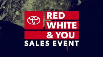 Toyota Red White & You Sales Event TV Spot, 'Camry & Corolla' [T2] - Thumbnail 2