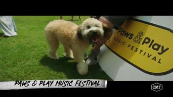 Pedigree TV Spot, 'CMT: Paws & Play Festival' Featuring Cassadee Pope