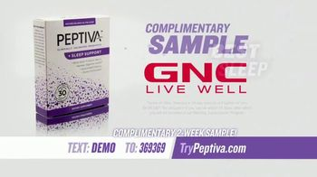 GNC Peptiva TV Spot, 'Best Sleep of Your Life' - Thumbnail 8