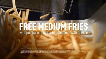 McDonald's Quarter Pounder TV Spot, 'Speechless: Free Fries' - Thumbnail 10