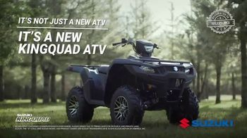 2019 Suzuki KingQuad TV Spot, 'Legendary' - Thumbnail 9