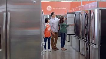 The Home Depot TV Spot, 'Design Your Dream Kitchen: GE Black Slate'