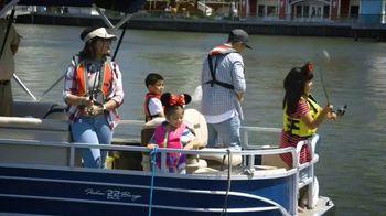 Take Me Fishing TV Spot, 'Disney Channel: New Adventures' - Thumbnail 1