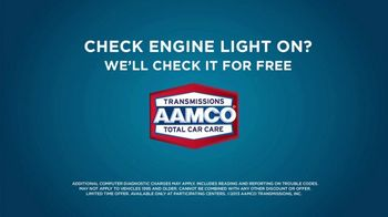 AAMCO Transmissions TV Spot, 'Sounds Like: Check Engine Light' - Thumbnail 9