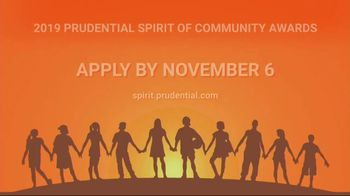 2019 Prudential Spirit of Community Awards TV Spot, 'Honoring Young People' - Thumbnail 10