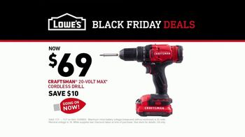 Lowe's Black Friday Deals TV Spot, 'The Moment: Craftsman' - Thumbnail 10