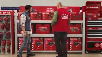 Lowe's Black Friday Deals TV Spot, 'The Moment: Craftsman' - Thumbnail 7