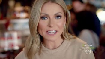 Ancestry Holiday Sale TV Spot, \'Kelly Ripa\'s Ancestry Results\'