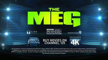 DIRECTV Cinema TV Spot, 'The Meg' - Thumbnail 10