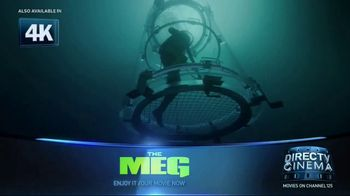 DIRECTV Cinema TV Spot, 'The Meg' - Thumbnail 2