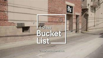 Mercedes-Benz A-Class TV Spot, 'ABC: Bucket List' Featuring Guillermo Rodriguez [T1] - Thumbnail 10