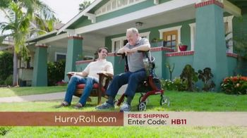The HurryRoll TV Spot, 'Why Struggle Bright' - 1086 commercial airings