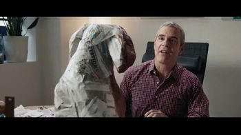 AutoTrader.com Accelerate TV Spot, 'Papier-Mâché' Featuring Andy Cohen, Daryn Carp - Thumbnail 3