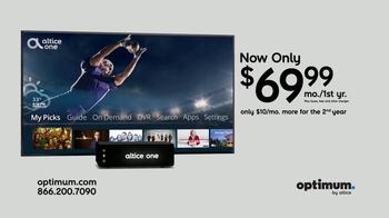 Optimum Altice One TV Spot, 'Great Two Year Deal' - Thumbnail 10