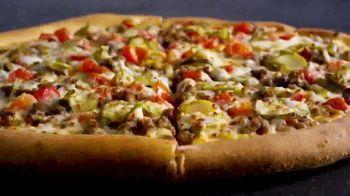 Papa John's Double Cheeseburger Pizza TV Spot, 'It's Back' - Thumbnail 7