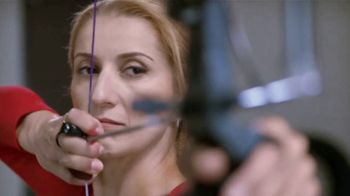Bridgestone DriveGuard TV Spot, 'Tire vs. US Olympic Archer Khatuna Lorig' - 3630 commercial airings