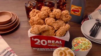 Church's Chicken $20 Real Big Family Deal TV Spot, 'Something Sweet' - Thumbnail 10