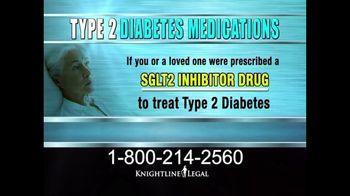 Knightline Legal TV Spot, 'Type 2 Diabetes Medications'