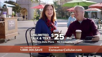 Consumer Cellular TV Spot, 'Coffee Date' - 915 commercial airings
