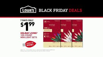 Lowe's Black Friday Deals TV Spot, 'The Moment: Peace on Earth' - Thumbnail 10