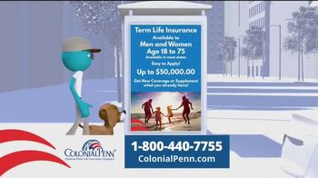 Colonial Penn TV Spot, 'Choices: Affordable Coverage'