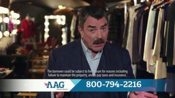 AAG Advantage Jumbo Loan TV Spot, 'Make Your Retirement Better' Feat. Tom Selleck - Thumbnail 8