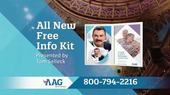 AAG Advantage Jumbo Loan TV Spot, 'Make Your Retirement Better' Feat. Tom Selleck - 5 commercial airings