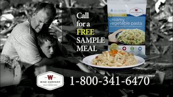 Wise Company Wise Food Storage TV Spot, 'Free Meal Sample' - Thumbnail 6