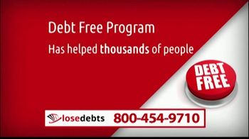 LoseDebts TV Spot, 'Debt-Free Program'