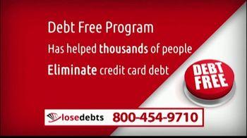 LoseDebts TV Spot, 'Debt-Free Program'