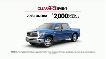 Toyota National Clearance Event TV Spot, 'Gone in Seconds' - Thumbnail 8