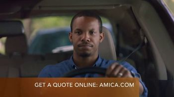 Amica Mutual Insurance Company Auto Insurance TV Spot, 'Pondering in the Car' - Thumbnail 3