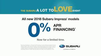 Subaru A Lot to Love Event TV Spot, 'More Than a Car' [T2] - Thumbnail 10