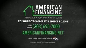 American Financing TV Spot, 'Years of Equity' Featuring John Elway - Thumbnail 10