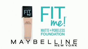 Maybelline Fit Me! Matte + Poreless Foundation TV Spot, 'Fit for All' - Thumbnail 4