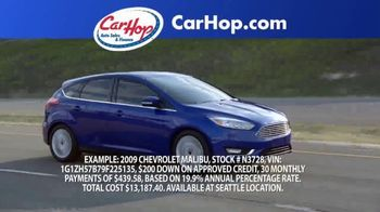 CarHop Auto Sales & Finance TV Spot, 'Great Place to Buy a Car: $200 Down' - Thumbnail 3