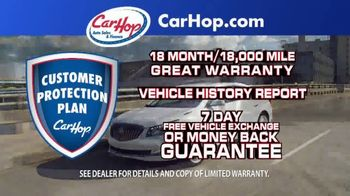 CarHop Auto Sales & Finance TV Spot, 'Great Place to Buy a Car: $200 Down' - Thumbnail 4