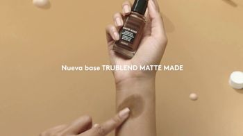 CoverGirl TruBlend Matte Made TV Spot, 'No se transfiere' [Spanish] - Thumbnail 3