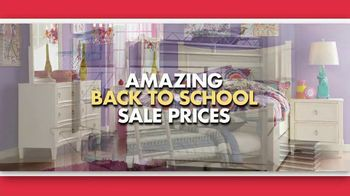 Rooms to Go Back 2 School Sale TV Spot, 'Kids' Rooms' - Thumbnail 2