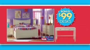 Rooms to Go Back 2 School Sale TV Spot, 'Kids' Rooms' - Thumbnail 4
