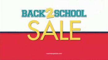 Rooms to Go Back 2 School Sale TV Spot, 'Kids' Rooms' - Thumbnail 7