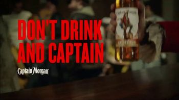 Captain Morgan Spiced Rum TV Spot, 'The Ride Home: Don't Drink and Captain' - Thumbnail 10