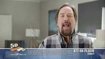 50 Floor 60 Percent Off Sale TV Spot, 'Wake Up Your Tired Floors' - Thumbnail 1