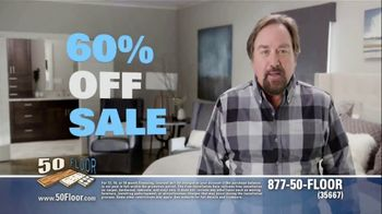 50 Floor 60 Percent Off Sale TV Spot, 'Wake Up Your Tired Floors' - Thumbnail 2
