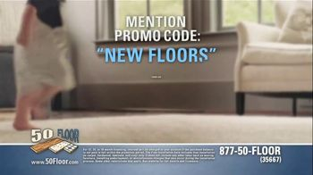 50 Floor 60 Percent Off Sale TV Spot, 'Wake Up Your Tired Floors' - Thumbnail 6