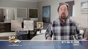 50 Floor 60 Percent Off Sale TV Spot, 'Wake Up Your Tired Floors' - 1 commercial airings