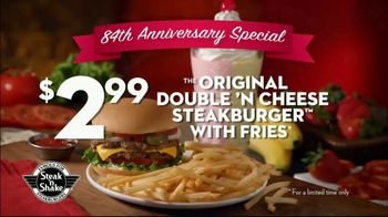 Steak 'n Shake 84th Anniversary Special TV Spot, 'Our Way of Thanking You'